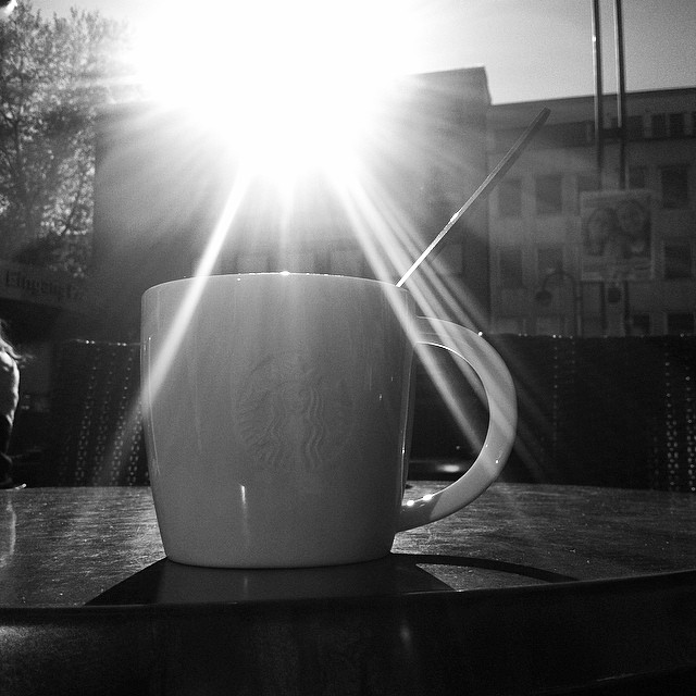 #Coffee and #sun