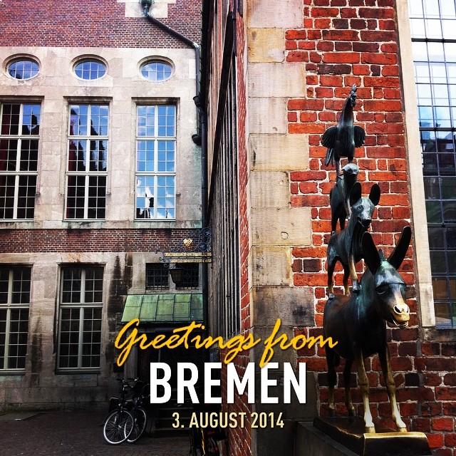 Bremer Stadtmusikanten #instaplace #instaplaceapp #place #earth #world  #deutschland #germany #DE #bremen  #day #chelseafc