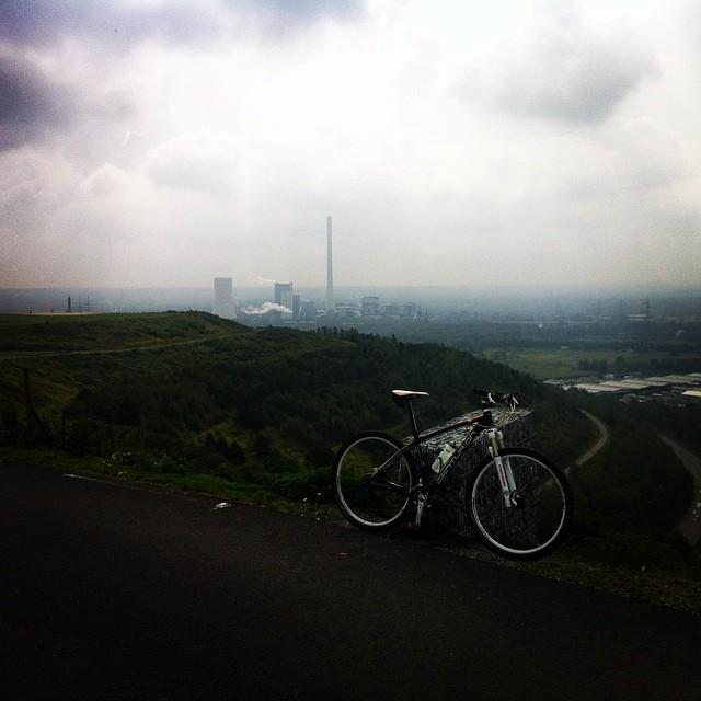 Over the Pott #bike #ruhrpott #halde