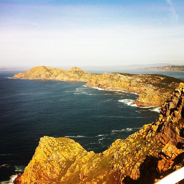 Islas Cies. #vigo #spain #farodecies