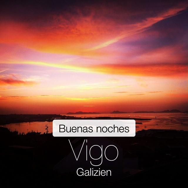 La Puesta del Sol #instaplace #instaplaceapp #place #earth #world  #spanien #spain #ES #vigo  #day #sunstagram