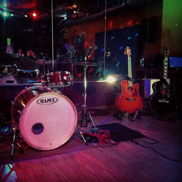 Mini Set zum Acoustic Gig. #smallchange