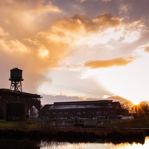 Wasserturm am Abend #bochum #westpark #ruhrpott #revier #sundown #industriekultur