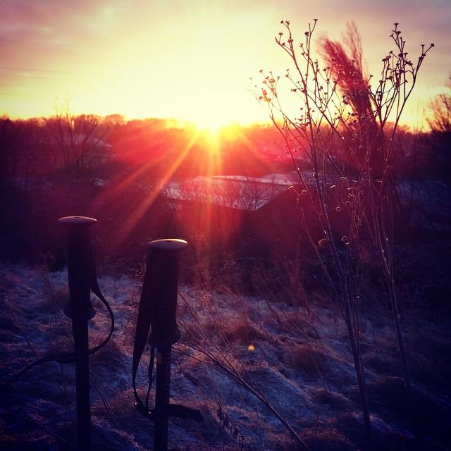 Moinsen #ruhrpott #walking #sunset #ig_nrw