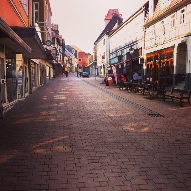 Kerstin, da hätten wir schön shoppen können. #schöningen #elm