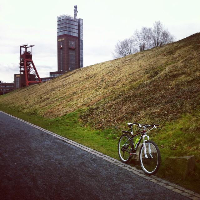 Good Morning Ruhrgebeat. #bike #ruhrpott #igersmtb #stravaphoto #nordsternpark