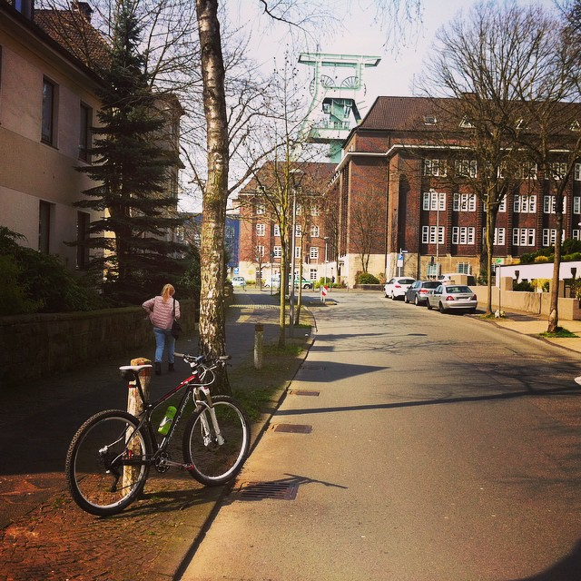 Bergbau-Museum. #bike #bochum #stravaphoto #ig_nrw #igersmtb