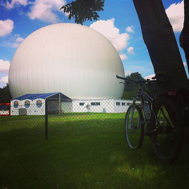Das Bochumer Ei. #sternwarte #bike #bochum #ruhrpott #sommersonneruhrpott #ig_nrw #instadailey