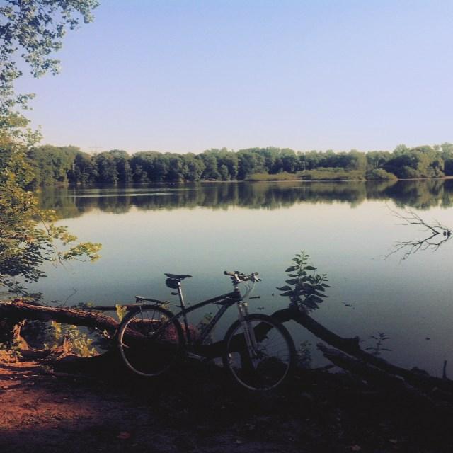Der Ewaldsee. #instagood #sommersonneruhrpott #stravaphoto #bike #bochum #ruhrpott #herten