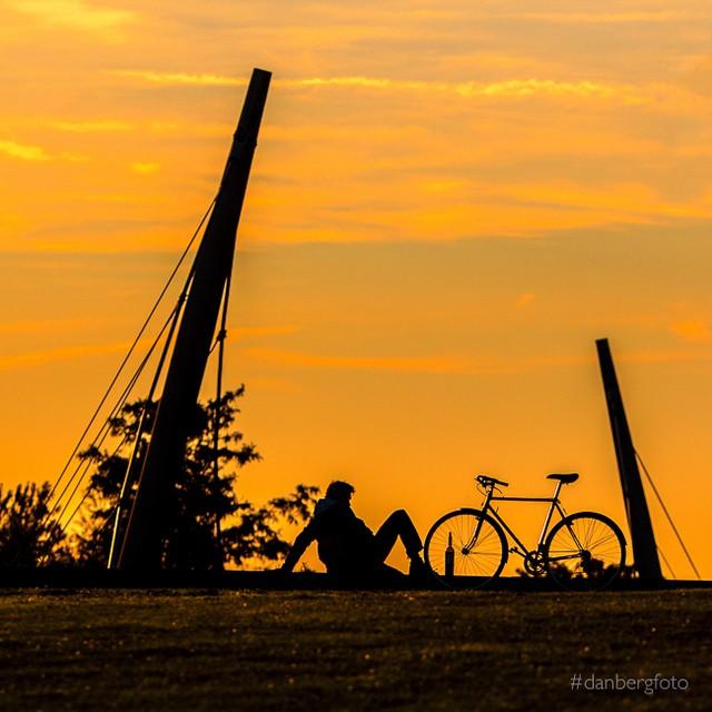Mach mal Pause #sunset #bochum #photooftheday #instamood #sommersonneruhrpott #westpark #instadaily #ig_nrw