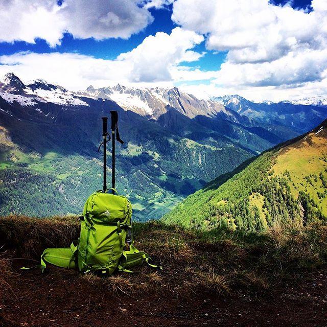 Wandern am Muhs Panorama Weg. #virgental #igersaustria #hiking #virgen #austria #danbergfoto #landscape