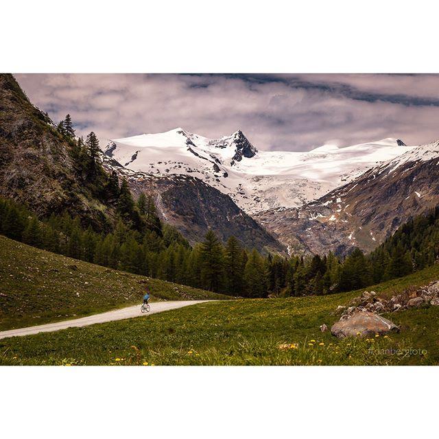 Mountainbiker im Angesicht von Reinerhorn und Grossvenediger. Gschlösstal/Austria. A Mountainbiker face to face Reinerhorn and Grossvenediger. #landscape #nature #bike #mtb #austria #instagood #ilovetraveling #photooftheday #danbergfoto